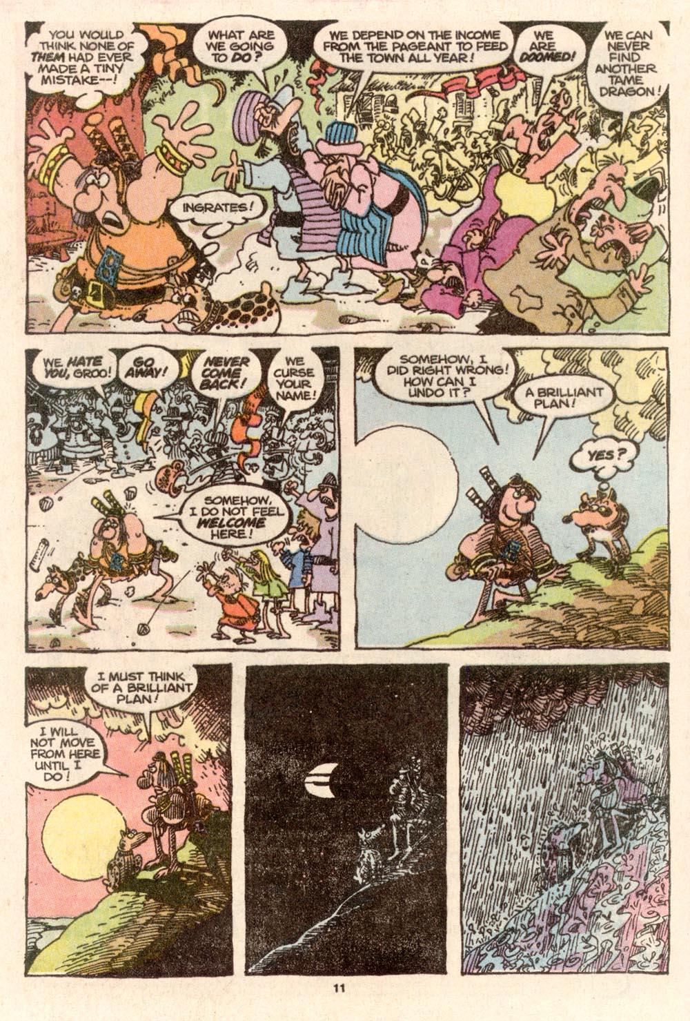 Read online Sergio Aragonés Groo the Wanderer comic -  Issue #67 - 8