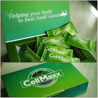 CellMaxx Produk dengan Bahan Utama Aphanizoemenon Flos Aquae (AFA)