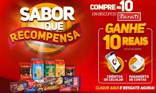 Promoção Biscoitos Parati 2019