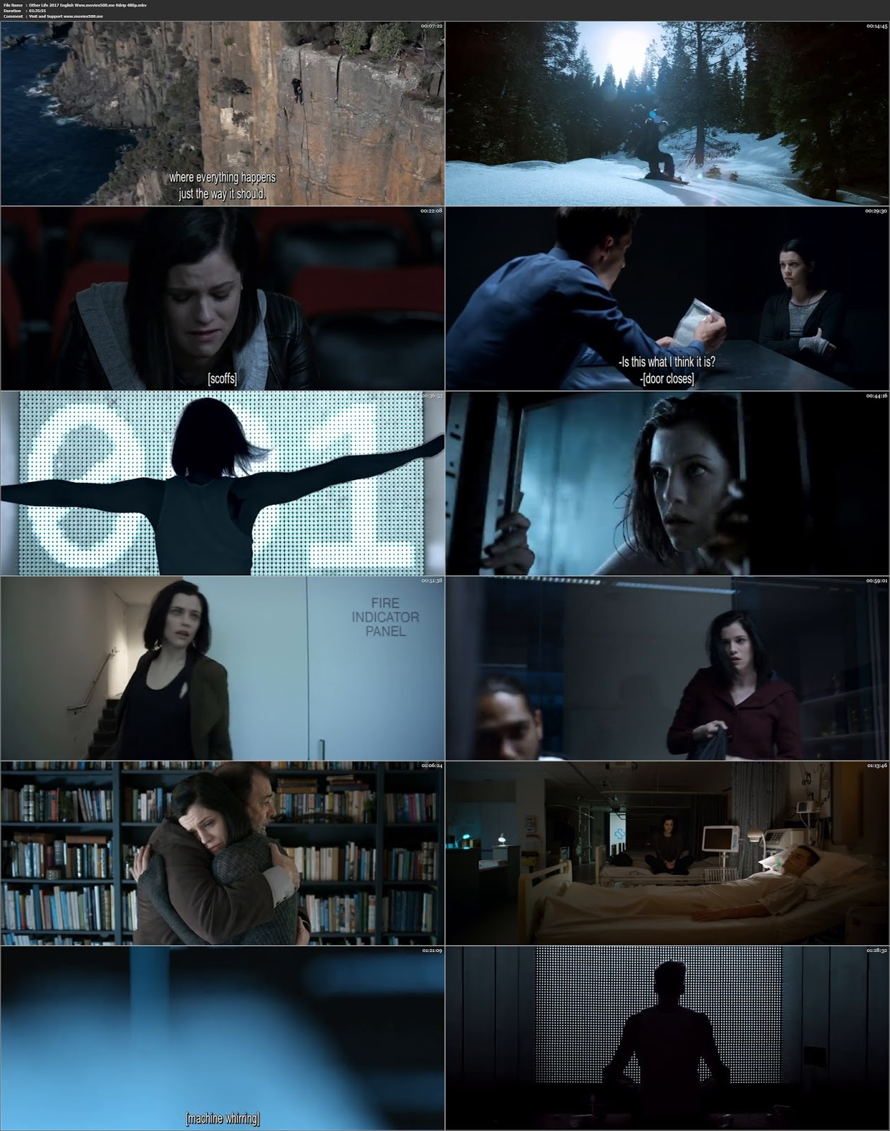 OtherLife 2017 Hollywood 270MB HDRip 480p ESubs at movies500.site