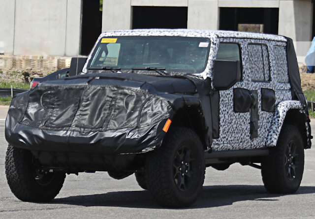 The Best Look Yet at the New Jeep Wrangler JL 2- and also 4-Door