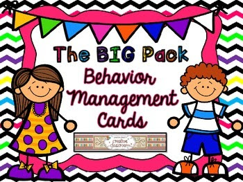 https://www.teacherspayteachers.com/Product/The-BIG-PACK-Behavior-Management-Cards-1356306