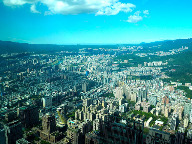 View from Taipei 101, Taipei, Taiwan