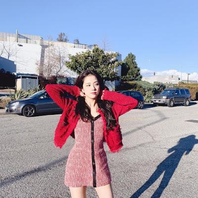 Jisoo of Blackpink from her instagram 1