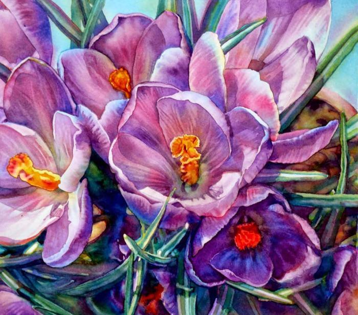 Любовь к природе. Jeannie Vodden