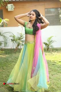 Actress Nikitha Bisht Stills in Lehenga Choli at Pochampally Ikat Art Mela Launch  0368.JPG