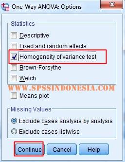 Cara Melakukan Uji Homogenitas dengan SPSS