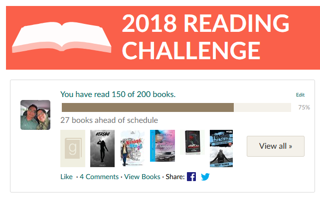2018 Reading Challenge - Countdown to Finale