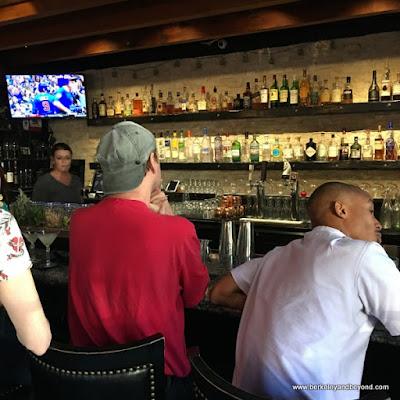 bar at Nico's 1508 in Berkeley, California