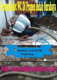 Masalah WC Mampet Dan Sedot WC Wilayah Prapen Indah Surabaya