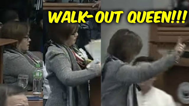 WATCH: Delima naglitanya, nagwalk-out, nagpresscon