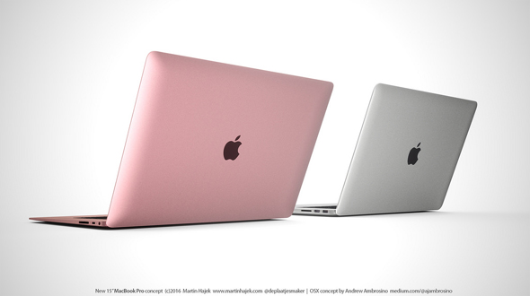 NEW MACBOOK PRO CONCEPT  by Martin Hajek
