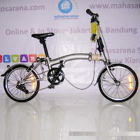 16 united trifold 1sp folding bike