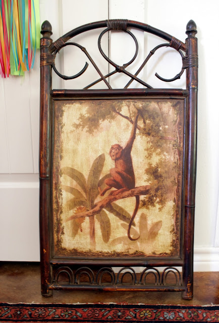 Thrift store art makeover- House Homemade