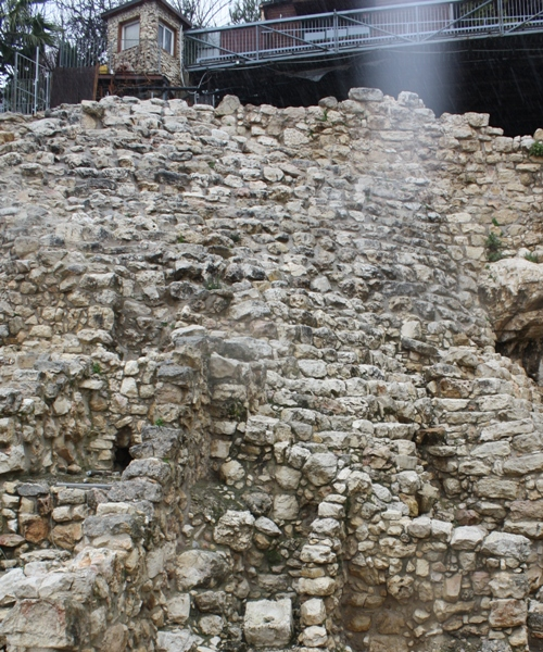 city of david structure