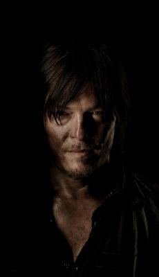 Daryl The Walking Dead - Fond d'Écran en QHD pour Mobile