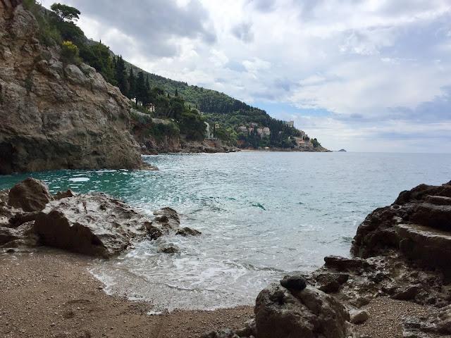 Betina cave beach near Dubrovnik, Croatia