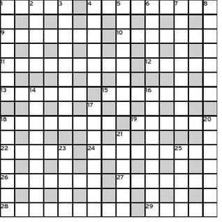 The hindu crossword corner june 2016 sunday 19 june 2016 malvernweather Gallery