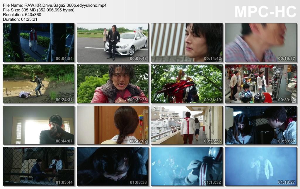 RAW] Kamen Rider Drive Saga 2 : Kamen Rider Mach/Kamen Rider