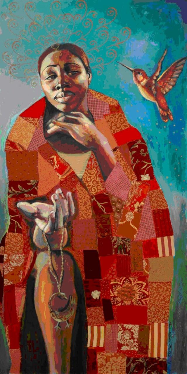 Яркое и жизнерадостное искусство. Tamara Natalie Madden 8