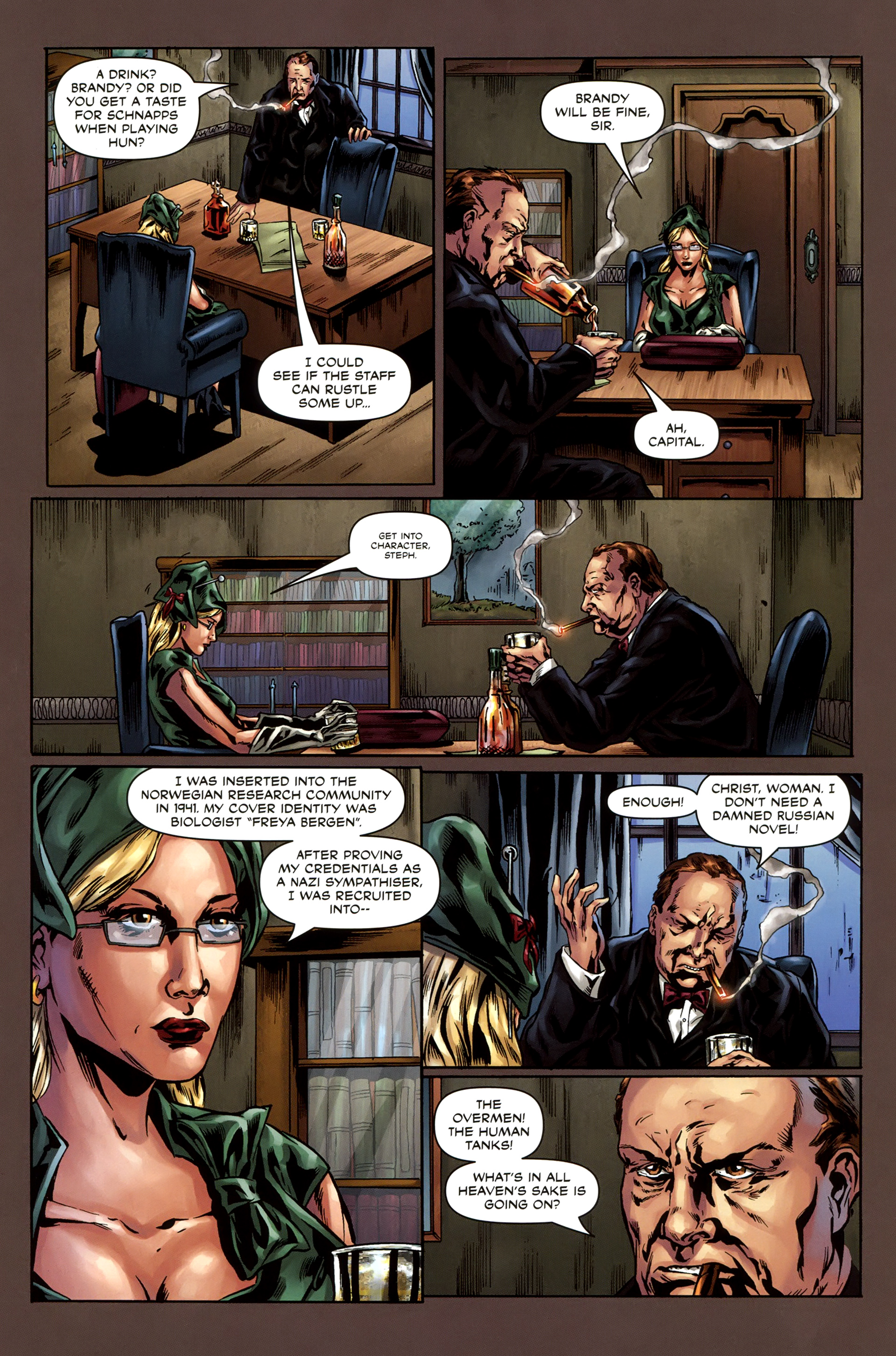 Read online Uber comic -  Issue #3 - 8