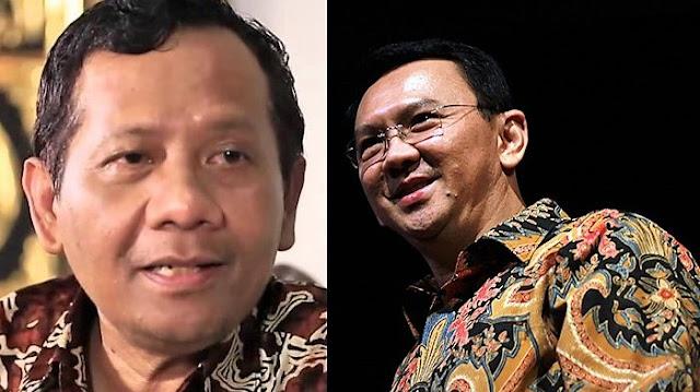 Soal Isu Ahok Gantikan KH Maruf Amin, Mahfud MD: Itu Permainan Politik yang Hoaks