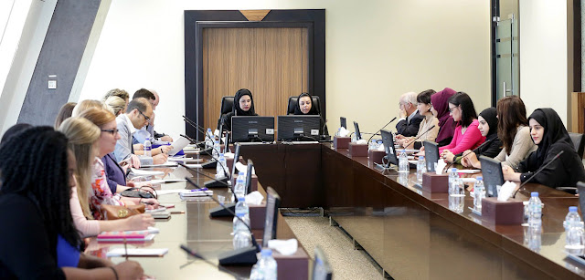 Ministry of Economy in cooperation with University of Dubai receives student delegation from the University of North Florida