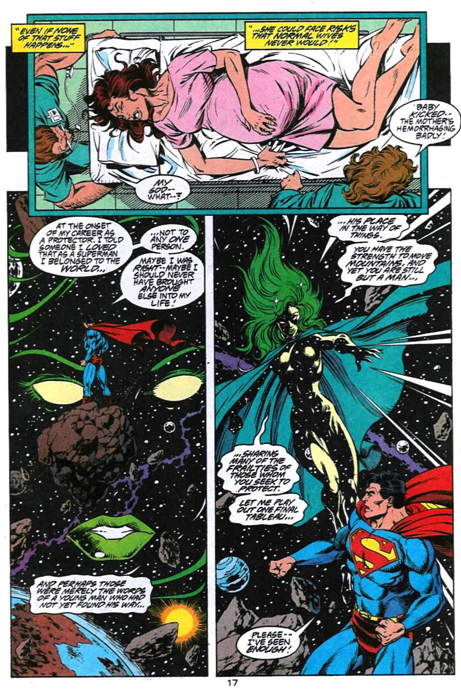 Read online Adventures of Superman (1987) comic -  Issue #494 - 18