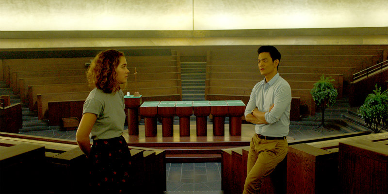 John Cho & Haley Lu Richardson In COLUMBUS