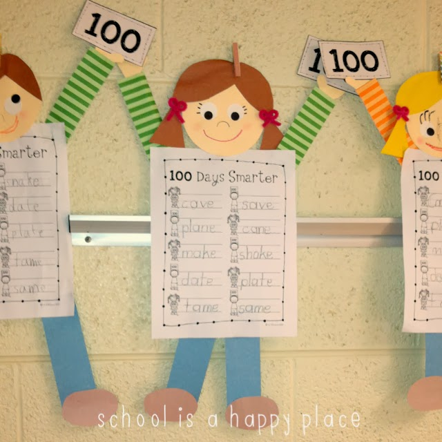 School Is A Happy Place: 100th Day 2014 (Done And Done