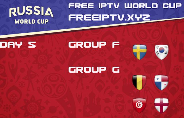 World Cup 2018 iptv sport channel free iptv m3u list 18/06/2018