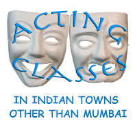 Acting schools in Indian towns other than Mumbai
