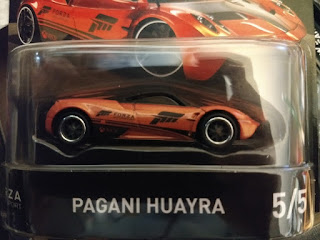 hot wheels forza motorsport pagani huayra