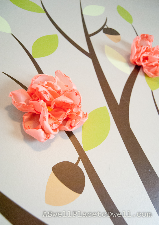 Make these easy fabric flowers