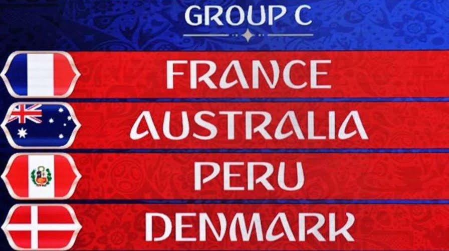 Russia 2018: le partite del Girone C con Francia Australia Perù Danimarca | Mondiali di Calcio