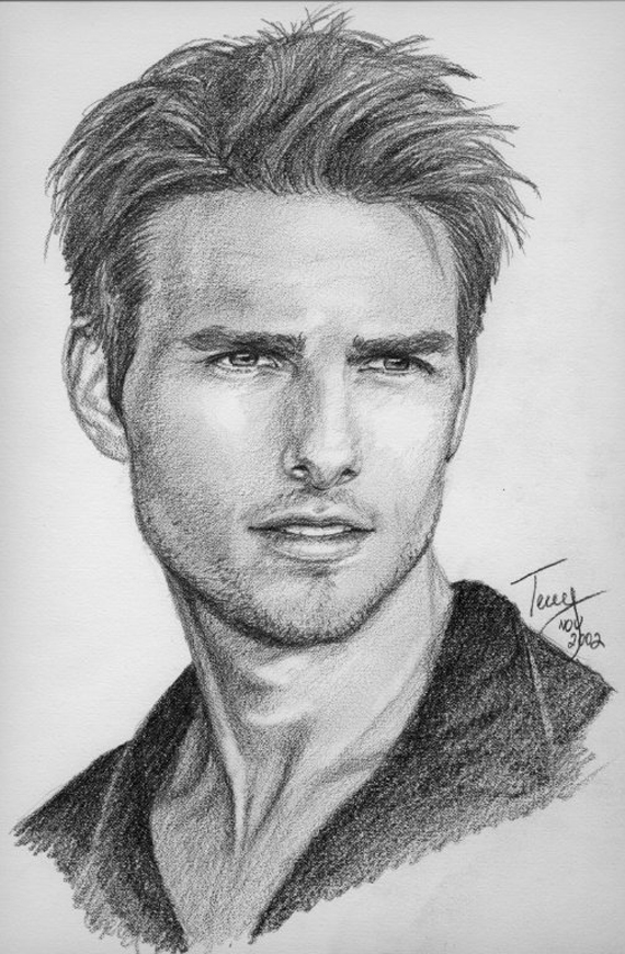 Tom Cruise Drawings Child Coloring