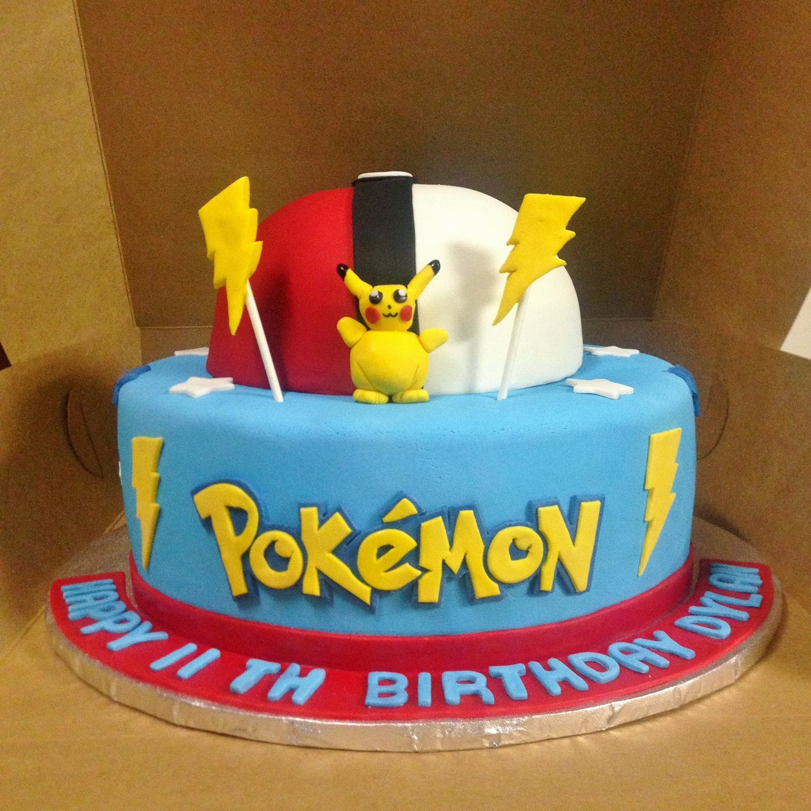 Cakes By Mindy 8 Quot Amp 12 Quot Pokemon Cake