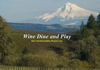 A food and wine tasting of the Willamette Wine Region in Oregon