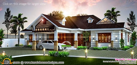 Awesome single storied home