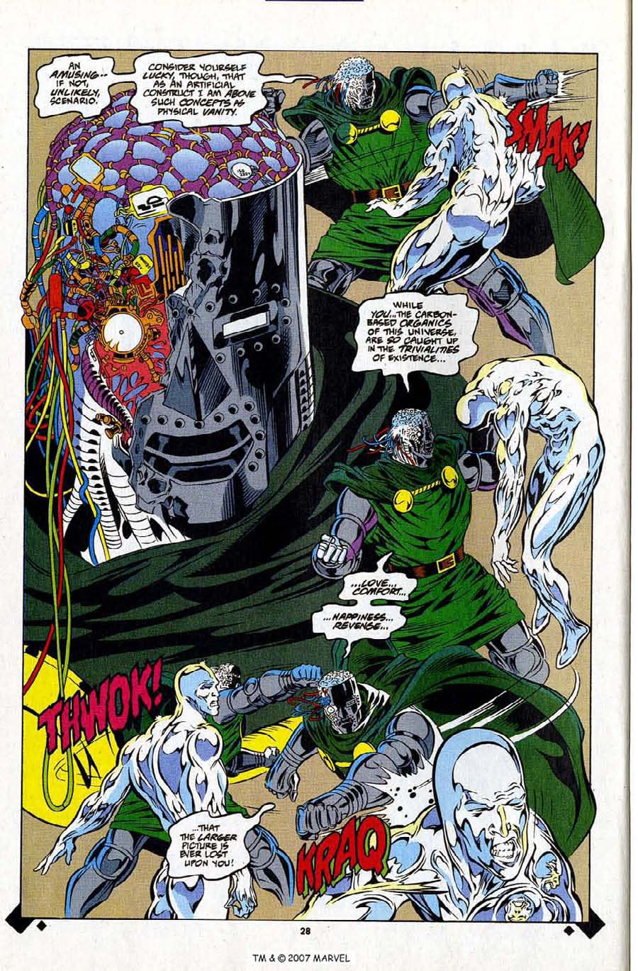 Read online Silver Surfer (1987) comic -  Issue #107 - 30