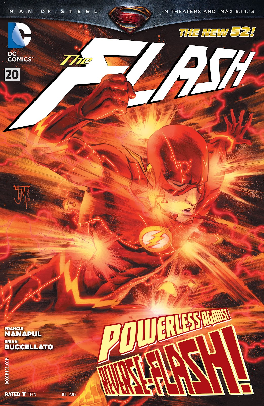 The Flash (2011) issue 20 - Page 1