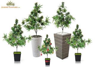 Artificial Cannabis Tree