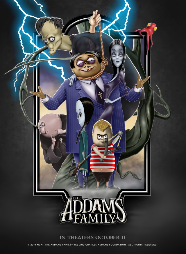 The Addams Family 2019 Hindi Dubbed 720p HDCAM 650MB