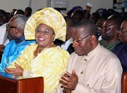 Photos from GEJ's Thanksgiving in Bayelsa yesterday