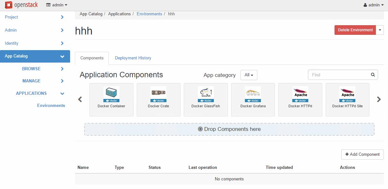 Openstack - App Catalog và Docker trên Devstack