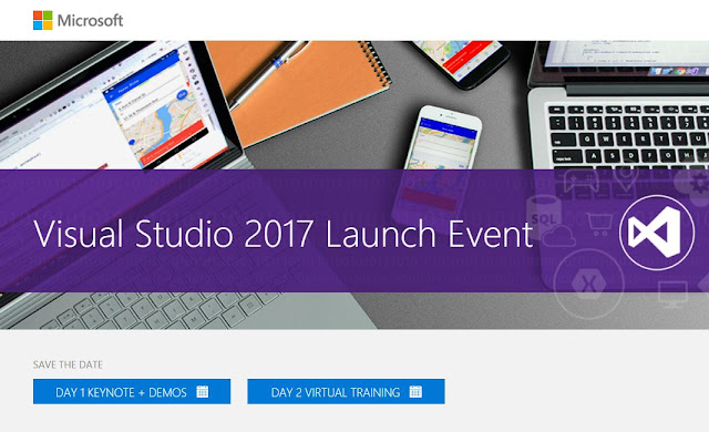 Announcement: Visual Studio 2017 launch.