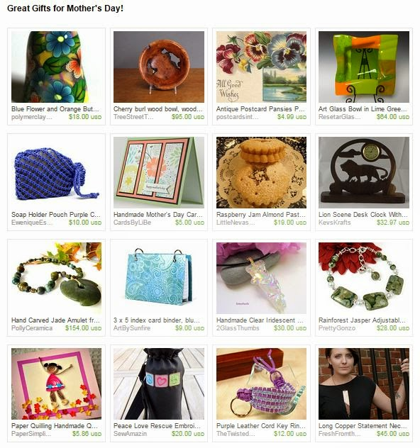 Great Gifts for Mother's Day! Treasury by 2GlassThumbs on Etsy