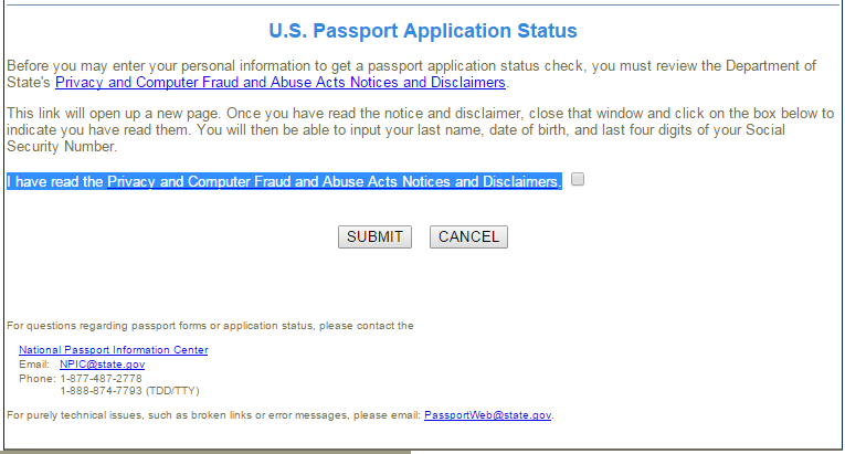 How To Check Your U S  Passport Application Status - VSolution