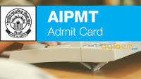 AIPMT Admit Card