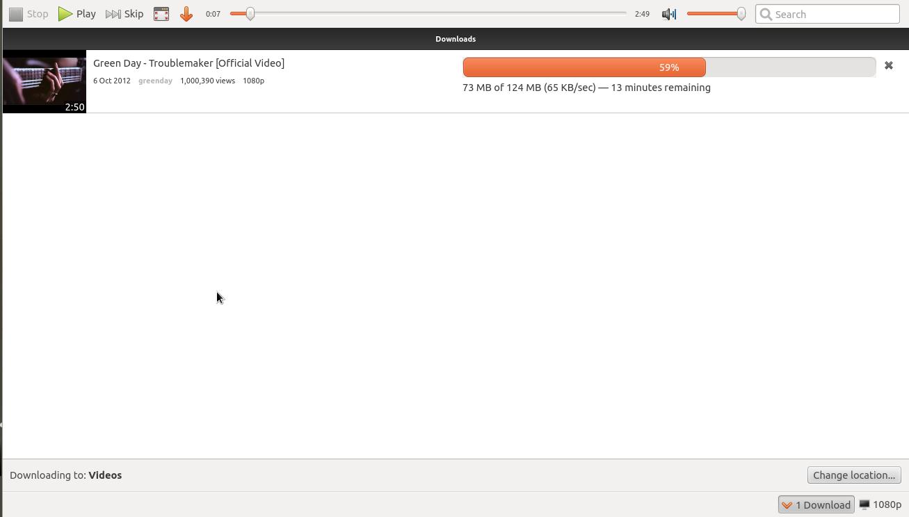 Youtube downloader For ubuntu